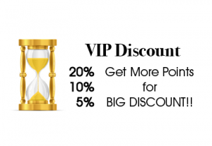 VIP CRM Point-System Loyalty-System