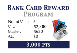 Credit-Card Promotion Free gift VIP